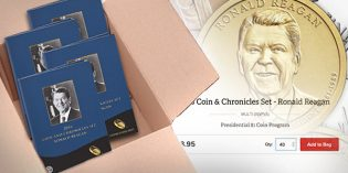 Order Limit Lifted on Reagan Coin & Chronicles Set