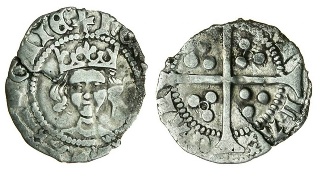 Henry VI (1422-1461) Penny. Images courtesy Spink Auctions
