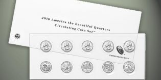 2016 America the Beautiful Quarters Circulating Coin Set Available Nov. 22