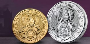 Second Queen's Beasts Release from Royal Mint Arrives at APMEX