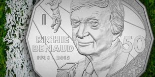Royal Australian Mint – 'Voice of Cricket' Richie Benaud Commemorated on New Coin