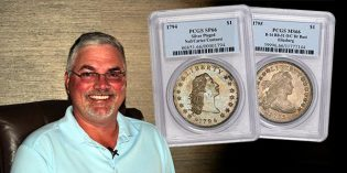 PCGS to Display $10 Million 1794 Dollar, Morelan Registry Set at 2017 FUN