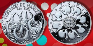World Coins- Portugal Issues New €2.50 Barcelos Figures Collector Coin