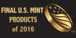 Release Dates Set for Final Four 2016 US Mint Products