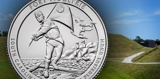 U.S. Mint to Launch Fort Moultrie Quarter Nov. 17