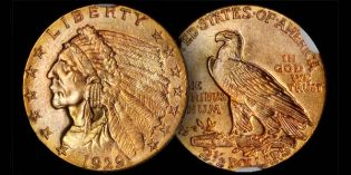 Stack's Bowers: Gem 1929 Indian Quarter Eagle in 1st Collectors Choice Online Auction of 2017