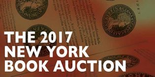 Kolbe & Fanning 2017 New York Book Auction Saturday, January 14