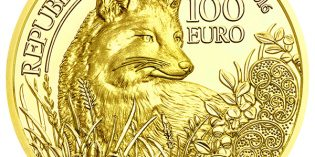 Austria 2016 Wildlife in Our Sights: The Fox 100 Euro Gold Coin