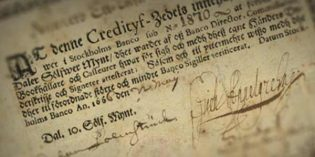 World's First Issued Banknote at Spink Auction in New York
