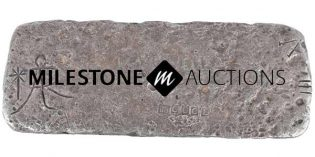 Ahoy! Silver Bar from Atocha Shipwreck, Painting by Guy C. Wiggins Could Steal Spotlight at Milestone's Jan. 14 Auction