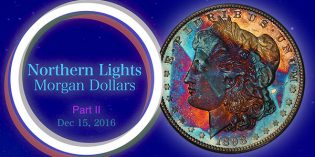 Toned Morgan Dollars of the Northern Lights Collection, Part 2 – 4K Video