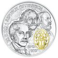 Obverse, Austria 2017 175th Anniversary Vienna Philharmonic Orchestra 20 Euro Silver Proof Coin. Image courtesy Austrian Mint