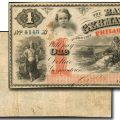 "Germantown ""Polar Bear"" $1 Note. Image courtesy Stack's Bowers Galleries"