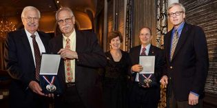 American Numismatic Society Presents Trustees' Award at 2017 ANS Gala