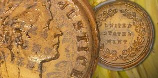 U.S. Coins – Glass Penny Sells for $70,500 at FUN Show Heritage Auction