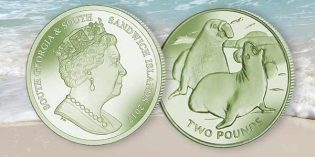 Pobjoy Mint:  Green Elephant Seal Expands 2017 Titanium Coin Series