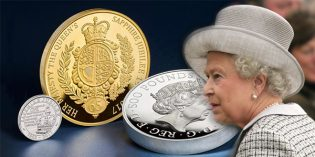 Gold Kilo Proof Coin Worth £49,995 to Celebrate Queen Elizabeth II's Sapphire Jubilee