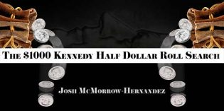 The $1,000 Kennedy Half Dollar Roll Search