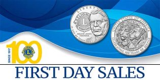 US Mint News – Lions Club 1st Day Sales, Update on Buffalo Fractional Gold