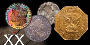 Legend Rare Coin Auctions 20th Regency Auction Brings Powerful Results
