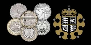 Royal Mint Reflects Pioneering British Spirit with New UK Coin Designs for 2017