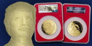 Modern Coin Mart: 1st Legal Tender Trump Coins in NGC Red Core with Inaugural Releases Designation