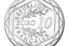 France 2017 Auguste Rodin 10 Euro Silver Coin
