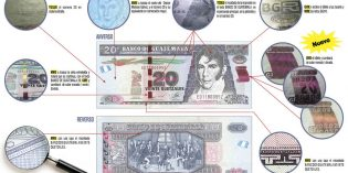 New World Banknotes from Switzerland, Solomon Islands, Guatemala