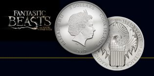 New World Coins: Magical Congress of the USA – Fantastic Beasts