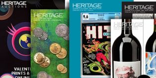 Heritage Auctions Reports $850+ Million Year