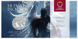 "Austrian Mint Issues First Guardian Angel, Latest ""Colorful Creatures"" Glow-in-the-Dark Coins"
