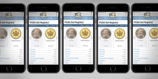New PCGS Online Interface for Registry Set Collecting