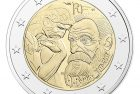 France 2017 Auguste Rodin 2 Euro Coin