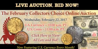 Stack's Bowers: The February Collectors Choice Online Auction