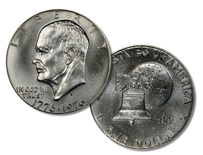 MS68 Eisenhower Dollar - Morgan-Oskam Specimen
