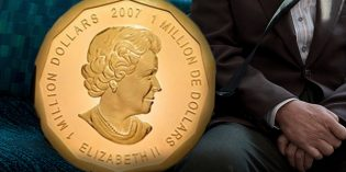 Four Million Dollar 100 Kilo Gold Coin Gestohlen!