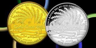 World Coins – Queen's Baton Relay Commemorative Marks Australian Commonwealth Day Celebration