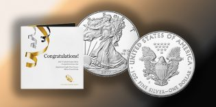 U.S. Mint Continues to Surprise with 2017-S American Silver Eagle in New Congratulations Set