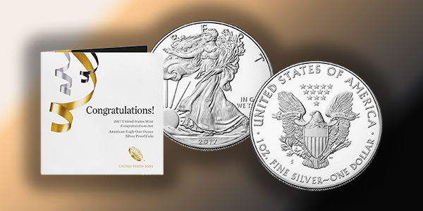 2017 US Mint American Silver Eagle S-Mint Proof