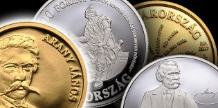 World Coin News –  Hungarian Silver, Gold Commemoratives Celebrate 200th Birthday of János Arany