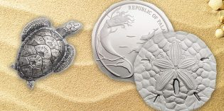 World Collector Coins – Sea Turtle, Sand Dollar Coins from Palau
