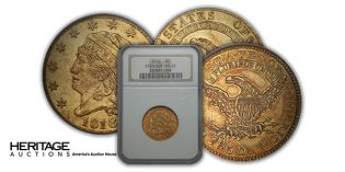 Heritage Auctions – Seldom Seen Selections: Rare 1818 Gold Half Eagle Coin Varieties