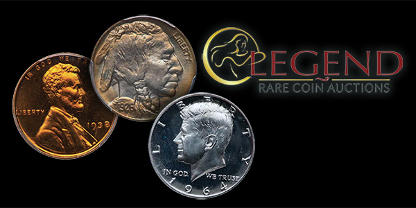 Legend Rare Coin Auctions March 2017 Sale
