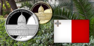 World Commemorative Coins – Malta Honors Lost Landmarks: Argotti Botanical Gardens Conservatory