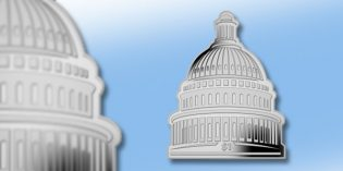 US Capitol Building Latest Shaped Coin from Pobjoy Mint