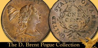 Highlights from the Pogue V Sale: Legendary 1794 S-18b Large Cent, Head of 1793