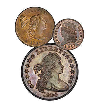 Key highlight coins from Pogue V Sale, Stack's Bowers