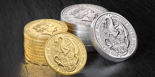 Royal Mint Launches 'Red Dragon of Wales' Queen's Beasts Bullion Coins