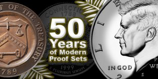 US Coins: 50 Years of Modern Proof Sets