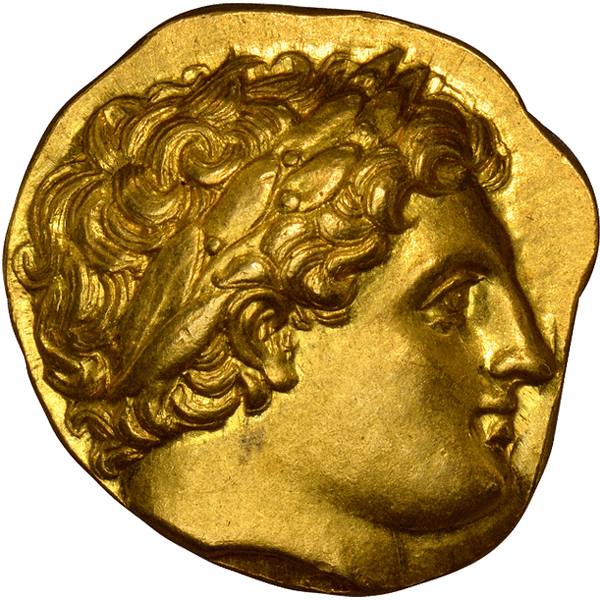 Ancient coins: GREEK. KINGDOM OF MACEDON. Philip II. (King, 359-336 BC). Posthumous issue, struck 322-317 BC. AV Stater. Images courtesy Atlas Numismatics